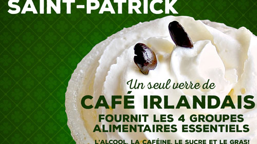 Facebook St Patrick's Day Promo