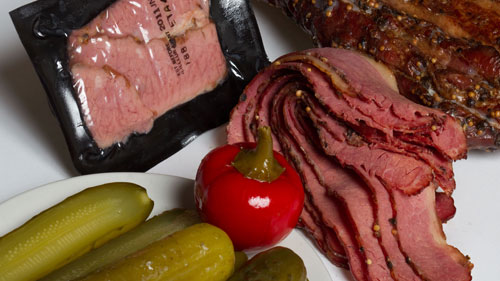 Smoked Meat Pouch