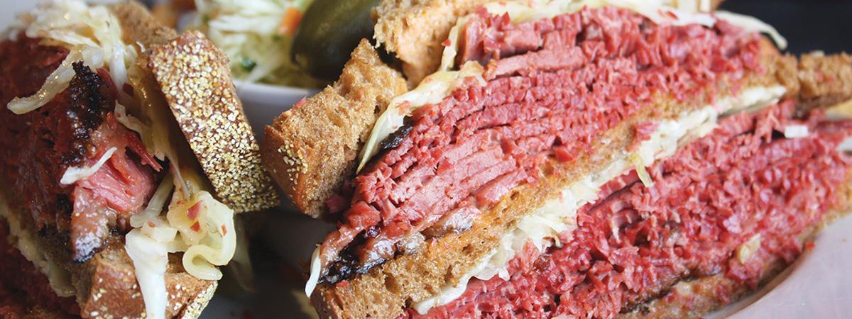 Rueban Sandwich - Montreal Style Smoked Meat