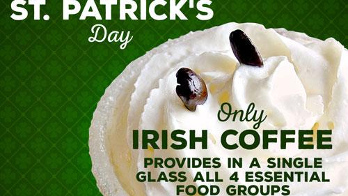 St Patrick's Dat Promo